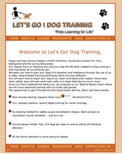 Lets Go Dog Training at York