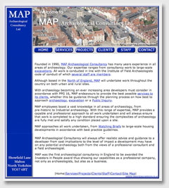 Yorkshire Archaeological, MAP of Malton