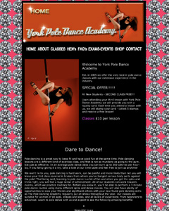 York Pole Dance Academy